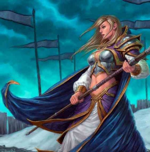 Jaina Proudmoore - the most powerful mage the Alliance has to offer - stands ready for battle.