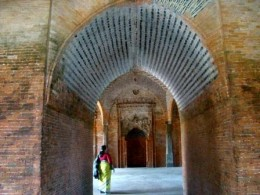 Inside the main chamer of the mosque