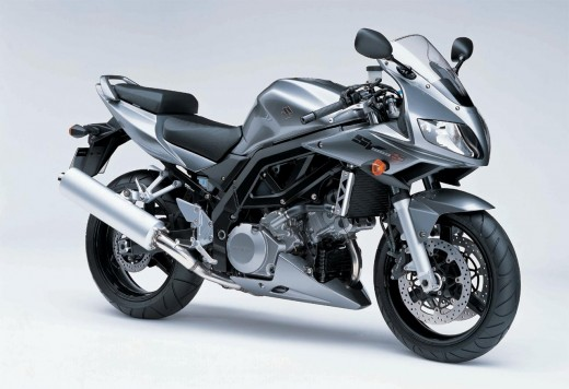 Suzuki SV1000. Takes naked styling to a new low. The only great thing about this bike is the engine, so they hide it!