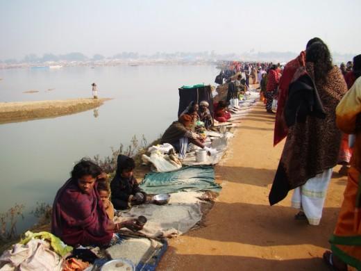 Beggars on the bridge