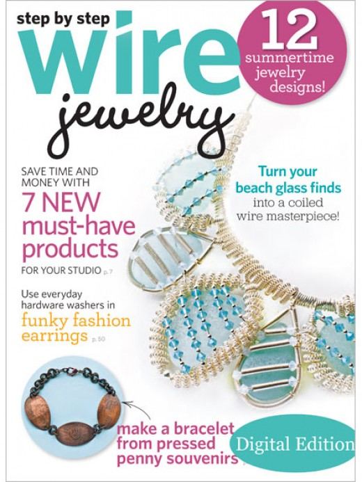 Step by Step Wire Jewelry Magazine June -- July 2011 Vol7No3