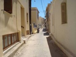 One of the beautiful narrow streets.