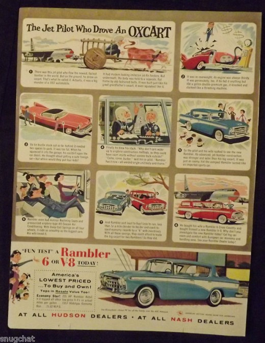 1957 Rambler Ad