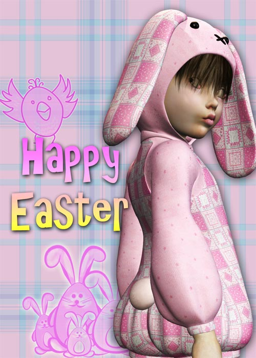Make an Easter Card 3 - Photoshop Lettering with Blending Effects