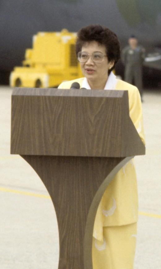 "President Corazon ""Cory"" Aquino"