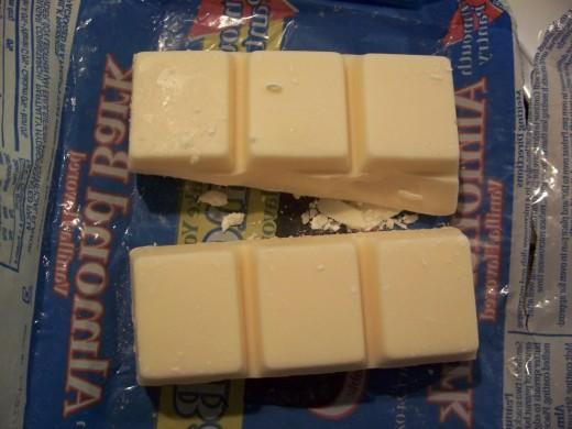 White Chocolate bark chunks