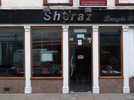 The Sheraz at No 13 Brick Lane; the site of The Frying Pan Inn.
