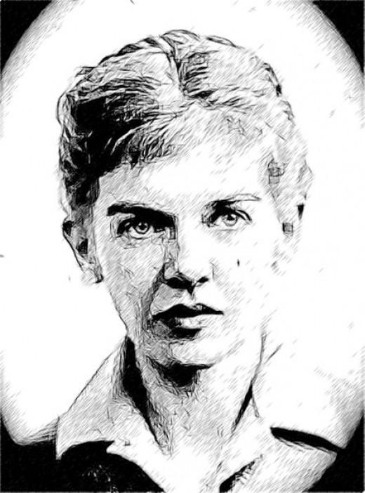 Sketch of Elizabeth Smart