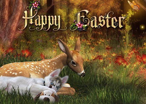 Most of all, make sure to have fun designing your cards, and have a very Happy Easter!