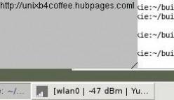 Iwicon displayed in a GNOME tool bar.