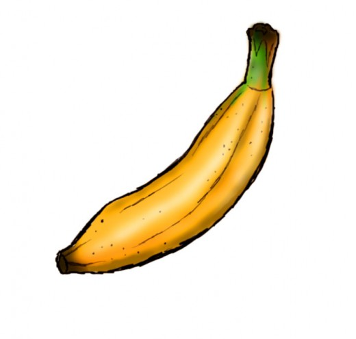 How to draw a banana Banana Drawing Step By Step