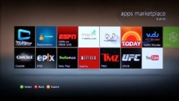 Select the Netflix app from the list of available apps.