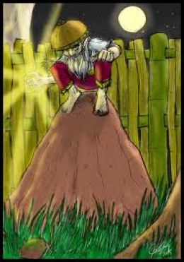 A nuno sa punso as depicted on Philippine folklore.