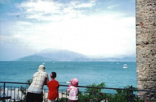 Lake Garda as viewed from Sirmione