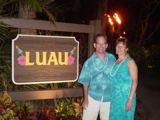 Luau at the Royal Lahaina Resort