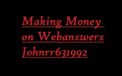 How to earn a part time online income using Webanswers along with tips, personal success, and a comprehensive guide.