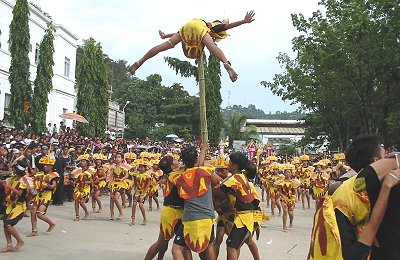 bagulan dance troupe of Paranas
