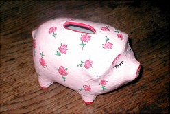 paper mache piggy bank instructions
