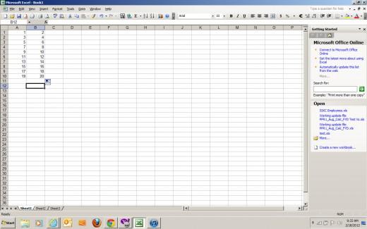 My Sample Data Set