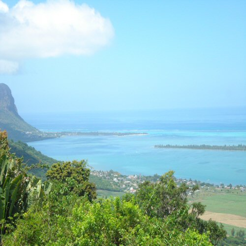 The West Coast of Mauritius is breathtaking.