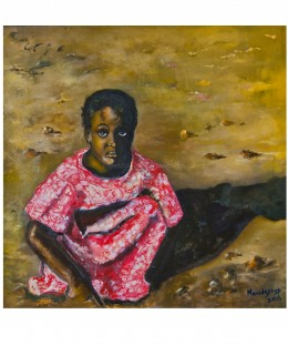 Portrait of young Zimbabwean girl