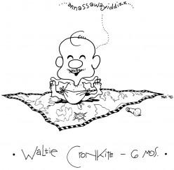 Waltie Cronkite at 6 Months