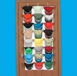 Baseball Cap Racks and Holders - Over The Door and Closet Cap Rack Holder