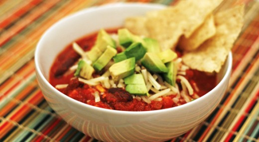 Simple Crockpot Chili