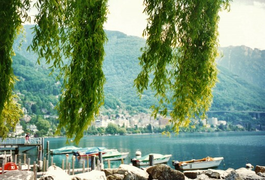 Montreux scenery