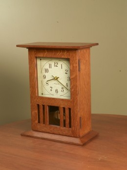 Mission Mantel or Wall Clock