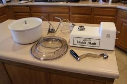The Little Dutch Maid Hand Crank Kitchen Machine