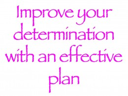 Improve Determination