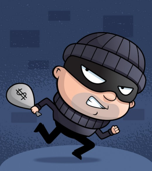 thief | image credit: Dreamstime