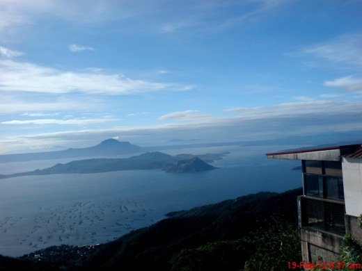 Taal Volcano from Tagaytay viewpoint