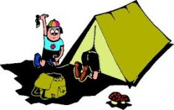 Camping tips for beginners; how to travel on a low budget and which nutricious food should one eat?