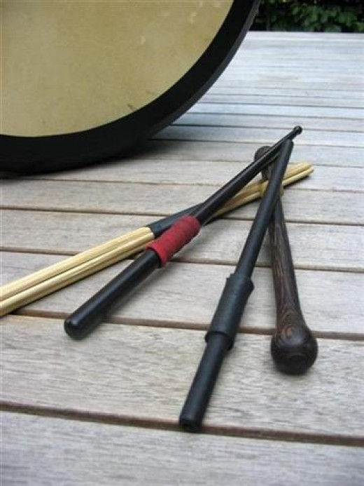 various tippers, some of which are designed for the bo style or traditional style.