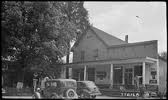Store and post office in Rhea Springs, 1940.