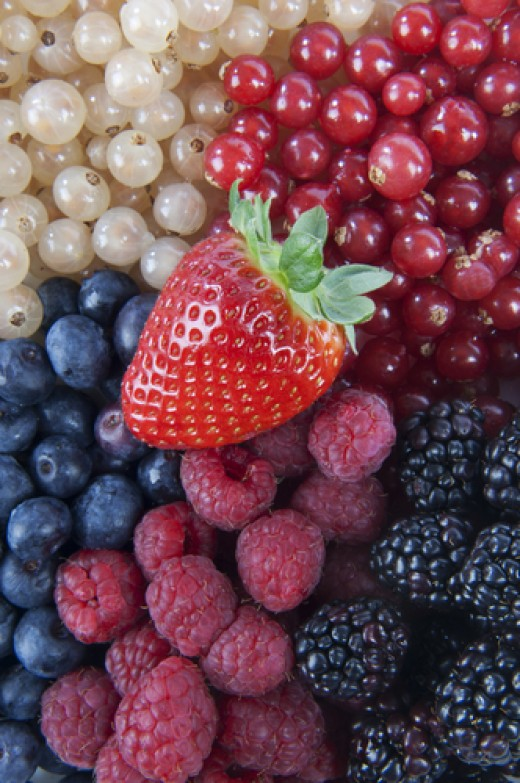 Fruit and vegetables added to a diet can help control cholesterol