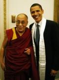 Barack Obama and the Dalai Lama photo