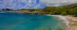 The beach at Hana