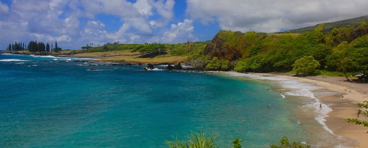 The beach at Hana