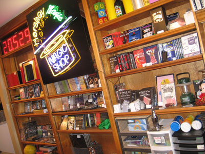 A real brick and mortar magic shop