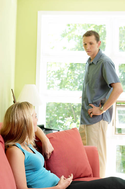 Young Couples arguing --Young Couples Are More Likely To Divorce