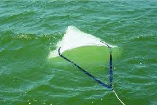 Drift control anchors slow the drift of the boat in strong winds and makes trolling fishing more enjoyable.