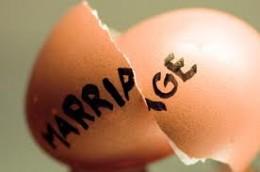 Marriage breakdown