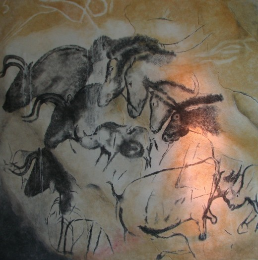 Paintings at Chauvet
