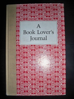 My first Book Lover's Journal