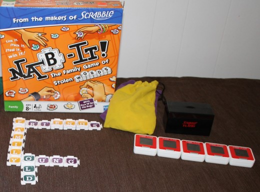 Nab It and Scrabble Flash are fun alternatives to traditional Scrabble.