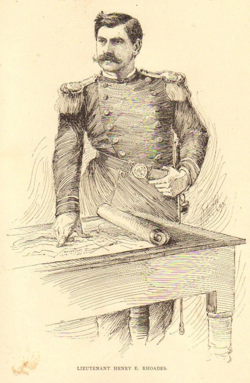 Lieutenant Henry Eckford Rhoades   Born: 1843 - Died: 1934