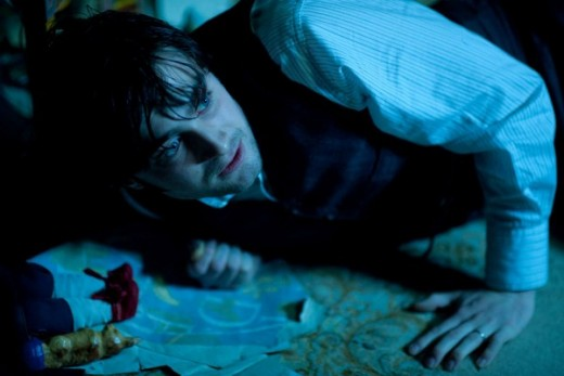 Daniel Radcliffe gives a fittingly restrained performance in The Woman in Black. Photo courtesy of IMDb online